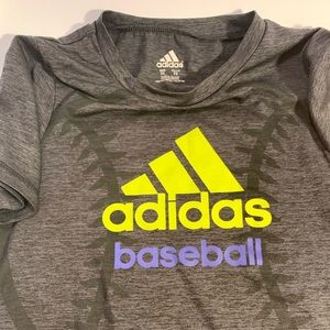 Adidas Climate Active Graphic Gray T-shirt